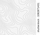 topographic map background... | Shutterstock .eps vector #1082871431