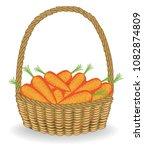 generous harvest. in a... | Shutterstock .eps vector #1082874809