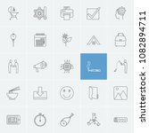 package icons set with team ...