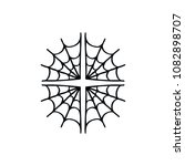 spider web doodle icon | Shutterstock .eps vector #1082898707
