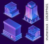 vector 3d isometric modern... | Shutterstock .eps vector #1082899601