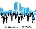 business people | Shutterstock .eps vector #10829056