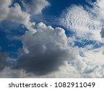 white cloud. with shades of... | Shutterstock . vector #1082911049