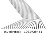 black and white stripe line... | Shutterstock .eps vector #1082925461