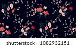 seamless floral pattern in... | Shutterstock .eps vector #1082932151