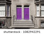 two identical pink purple... | Shutterstock . vector #1082942291