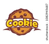cookie vector logo | Shutterstock .eps vector #1082945687