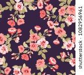 simple cute pattern in small... | Shutterstock .eps vector #1082956961