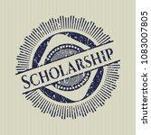 blue scholarship distressed...   Shutterstock .eps vector #1083007805