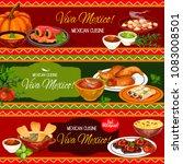 mexican cuisine restaurant...   Shutterstock .eps vector #1083008501