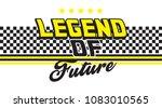 retro slogan tee design | Shutterstock .eps vector #1083010565