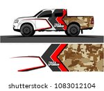 car livery graphic vector.... | Shutterstock .eps vector #1083012104