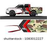 car livery graphic vector.... | Shutterstock .eps vector #1083012227