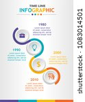 infographic template for... | Shutterstock .eps vector #1083014501