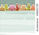 winter background | Shutterstock .eps vector #108301739