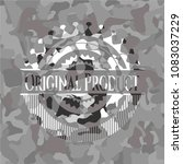 original product grey camo... | Shutterstock .eps vector #1083037229
