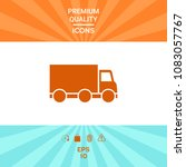 delivery car icon   Shutterstock .eps vector #1083057767