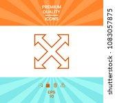 extend  resize  enlarge line...   Shutterstock .eps vector #1083057875