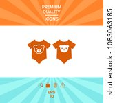 baby rompers icon | Shutterstock .eps vector #1083063185