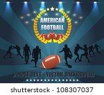 American Football Vector Design