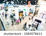 abstract blurred defocused... | Shutterstock . vector #1083078611