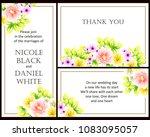 vintage delicate invitation... | Shutterstock . vector #1083095057