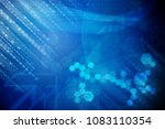 abstract binary code background | Shutterstock . vector #1083110354
