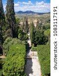 villa d'este tivoli  italy  ... | Shutterstock . vector #1083117191