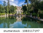 villa d'este tivoli  italy  ... | Shutterstock . vector #1083117197