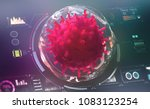 microbiology of the future.... | Shutterstock . vector #1083123254