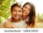Portrait Of A Happy Couple...