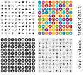 100 webdesign icons set vector... | Shutterstock .eps vector #1083132011