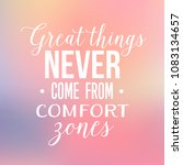 inspirational typographic quote ... | Shutterstock .eps vector #1083134657