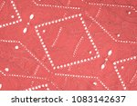 texture  pattern. cloth red... | Shutterstock . vector #1083142637