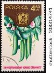 poland   circa 1980  a stamp... | Shutterstock . vector #108314741