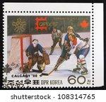 korea  circa 1987  a stamp... | Shutterstock . vector #108314765