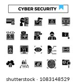 cyber security and cyber crime... | Shutterstock .eps vector #1083148529
