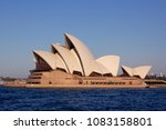 close up the sydney opera house ... | Shutterstock . vector #1083158801