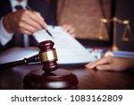 partner lawyers or attorneys... | Shutterstock . vector #1083162809