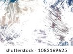 brushed painted abstract... | Shutterstock . vector #1083169625