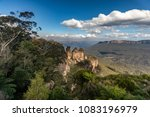 the three sisters and mount... | Shutterstock . vector #1083196979