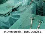 synthetic mesh used in hernia... | Shutterstock . vector #1083200261