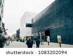 vaduz  liechtenstein  january... | Shutterstock . vector #1083202094