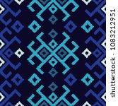 ethnic boho seamless pattern.... | Shutterstock .eps vector #1083212951