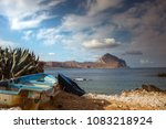 small beach in san vito lo capo ... | Shutterstock . vector #1083218924