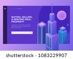 homepage. header for website... | Shutterstock .eps vector #1083229907