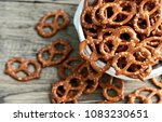 Hard pretzels or salted...