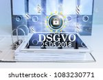 german text dsgvo  translate... | Shutterstock . vector #1083230771