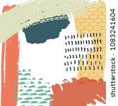 painting brush creative...   Shutterstock .eps vector #1083241604