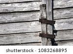 old wooden wall background for... | Shutterstock . vector #1083268895